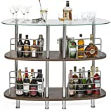Mango Steam Contemporary Modern Home Entertainment Liquor Bar Catalina Table