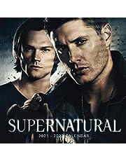 """Supernatural Calendar 2021-2022: Mini Book Calendar - 7""""x7"""", 18 Months from 1 Jan 2021 to 31 June 2022"""