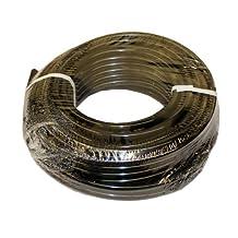"ATP Nylochem Nylon Plastic Tubing, Black, 3/8"" ID x 1/2"" OD, 100 feet Length"