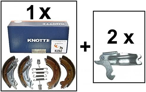 /2425//1/47276/ 2/x Knott spreiz serratura per 1/asse Contea ganasce del freno 200/x 50/Knott 20/