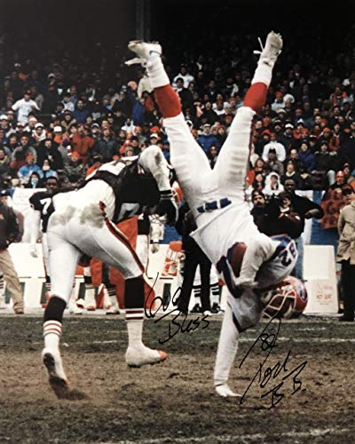 Don Beebe Buffalo Bills 16-1 16x20 Autographed Photo - Certified Authentic