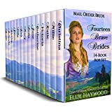 Fourteen Brave Brides: A 14 Book Box Set: Clean Historical Western Romance Collection