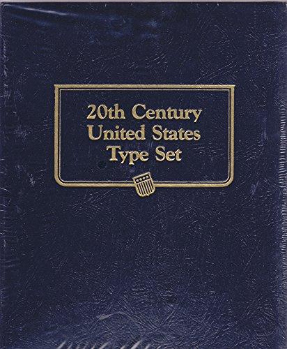 No 9139 WHITMAN CLASSIC 20th Century US Type Set ALBUM (20th Century Toys)