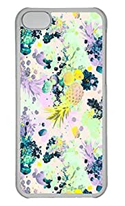 Personalized Custom Fruit Bg for iPhone 5C PC Transparent Case by lolosakes