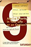 Am I a Priority in Your Life or an Option?, Manswell Peterson, 1436330742
