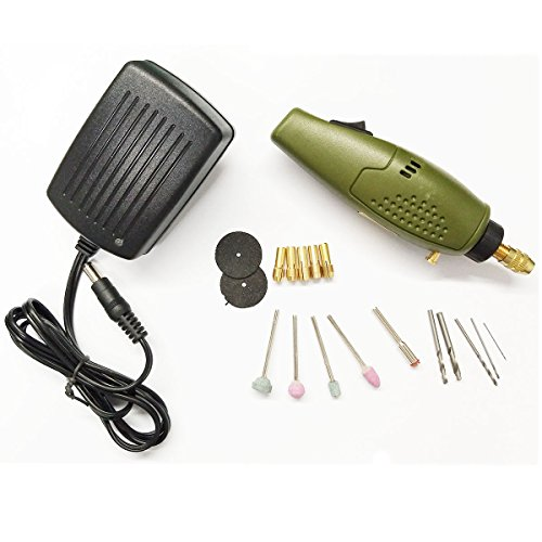 Mini Chipboard Set (Generic Mini Electric drill accessories Electric Grinding Set 12V DC Grinder Tool for Milling Polishing Drilling Engraving)