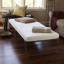 Zinus Sleep Master Weekender Elite Folding Guest Bed with Bonus Storage Bag