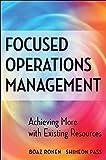 Focused Operations Management 9780470145104