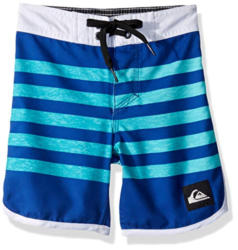 Quiksilver Little Everyday Grass Roots BOY 14 Boardshort Swim Trunk, Electric Royal, 6