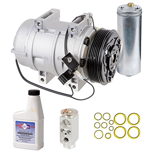 Volvo S80 A/c Compressor (New AC Compressor & Clutch With Complete A/C Repair Kit For Volvo S80 S60 XC90 - BuyAutoParts 60-80413RK New)