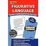 Edupress (EP-3410) Reading Comprehension Practice Cards, Figurative Language, Blue Level