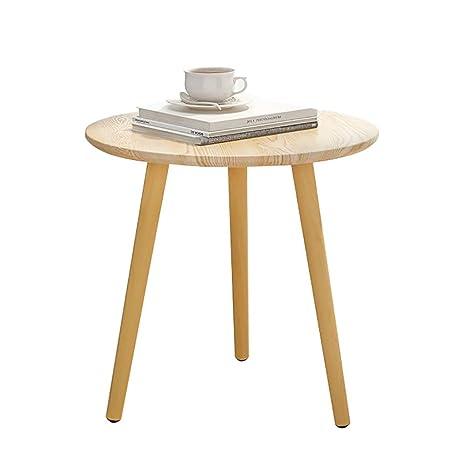 Lw coffee table Mesita pequeña Moderno Lado Redondo Mesa de ...