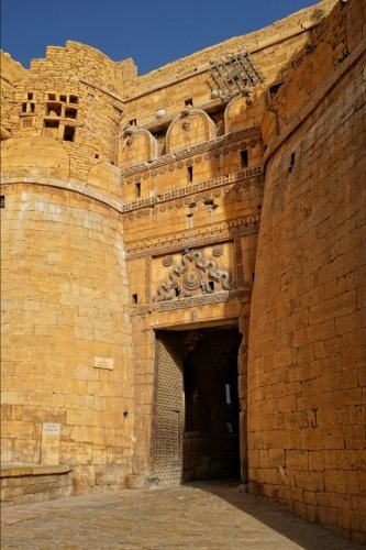Jaisalmer Fort in Rajastan India Journal: 150 page lined notebook/diary