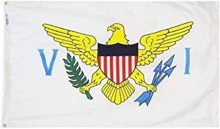 product image for Annin Flagmakers Model 146850 US Virgin Islands 2x3 ft. Nylon SolarGuard NYL-Glo 100% Made in USA. Flag