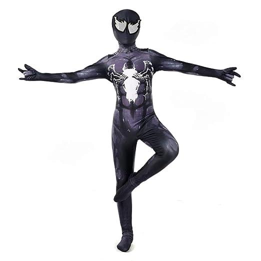PIAOL Venom Spider Man Traje Cosplay De Halloween Siamés ...