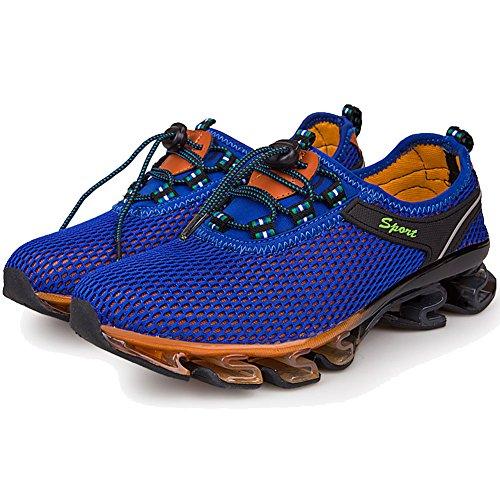 Zijn Dreamer Heren Womens Lichtgewicht Ademend Springblade Mesh Running Atletische Schoenen Koningsblauw