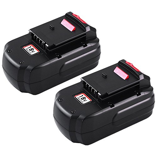 3.0Ah Ni-MH PC18B Replace for Porter Cable 18V Battery PCC489N PCMVC PCXMVC PORTER-CABLE PC18B-2 18-Volt Cordless Tools Batteries 2 - Battery Porter Cable Volt 18