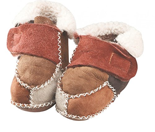 ch-home-design , Chaussures souple pour bébé (garçon) naturel 17-18