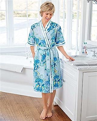 National Wrap Plisse Robe