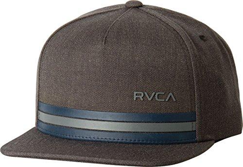 rvca-mens-barlow-twill-snapback-hat-charcoal-one-size