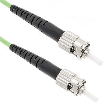 BeMatik - Cable de Fibra óptica OM5 multimodo simplex 50µm/125µm ST/PC a