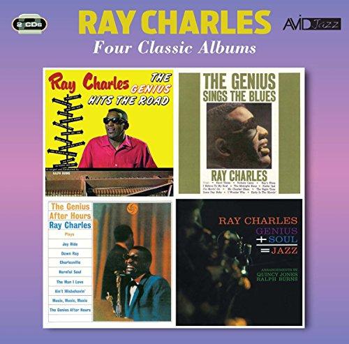 4 Classic Albums (Genius Hits The Road / Genius Sings The Blues / Genius After Hours / Genius)