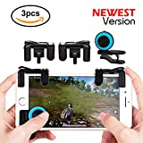 Mobile Game Controller Sesnsitive Shoot and Aim Keys Button L1R1 Shooter Controller for Fortnite/PUBG/Knives Out/Rules of Survival Cellphone Analog Joystick Latest Upgraded