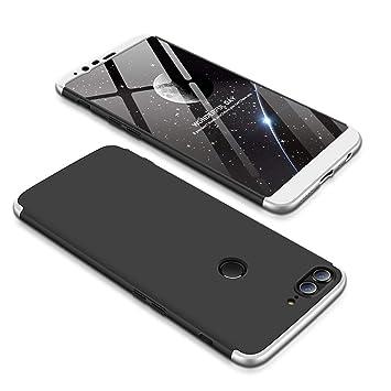 JMGoodstore Funda Oneplus 5T,Carcasa Oneplus 5T,Funda 360 Grados Integral para Ambas Caras+Cristal Templado,[360°] 3 in 1Slim Fit Dactilares ...