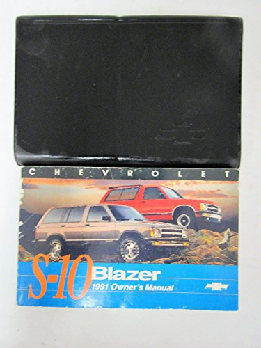 1991 Chevrolet S-10 Blazer owners manual
