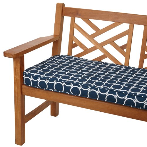 Mozaic Company Indoor/ Outdoor 48 by 19-inch Corded Bench...