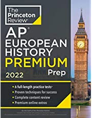 Princeton Review AP European History Premium Prep, 2022: 6 Practice Tests + Complete Content Review + Strategies & Techniques (2022)