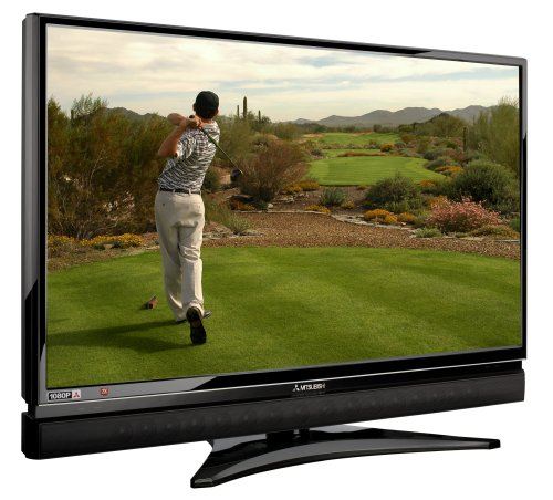 Mitsubishi LT-52149 52-Inch 1080p 120Hz LCD HDTV with Integrated Sound Projector ()