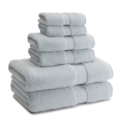 Kassatex Atelier 9 Piece Towel Set, Made in Turkey - 100% Tu