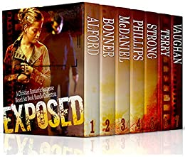 Exposed: A Christian Romantic Suspense Boxed Set Book Bundle Collection by [Bonner, Lynnette, Alford, Mary, McDaniel, Lesley Ann, Phillips, Lisa, Strong, Angela Ruth, Terry, Alana, Vaughan, Virginia]
