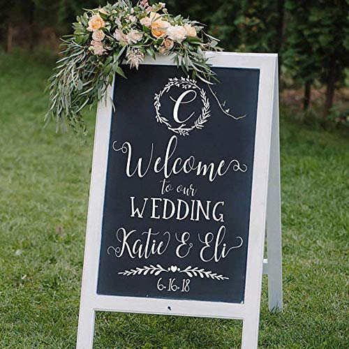 Custom Welcome to our Wedding Decal ()
