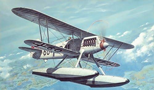 プラスチックモデルキット飛行機Heinkel He。51 b.1 Fighter 1 / 48 Roden 453