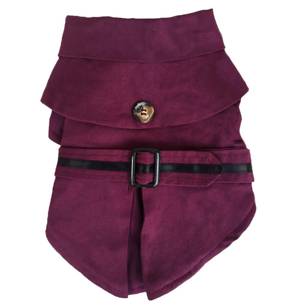 Xinwcang Disfraces de para Perros Halloween Ropa de Navidad para Perros Pequeñ os Disfraz Abrigos Camisas Chaquetas Vestidos Pink XS