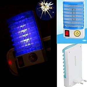 NUOVO Elettronica Killer delle Zanzare, Mecohe LED Presa di Corrente Elettrico Zanzara Fly Bug Insetto Trappola Lampada… 5 spesavip