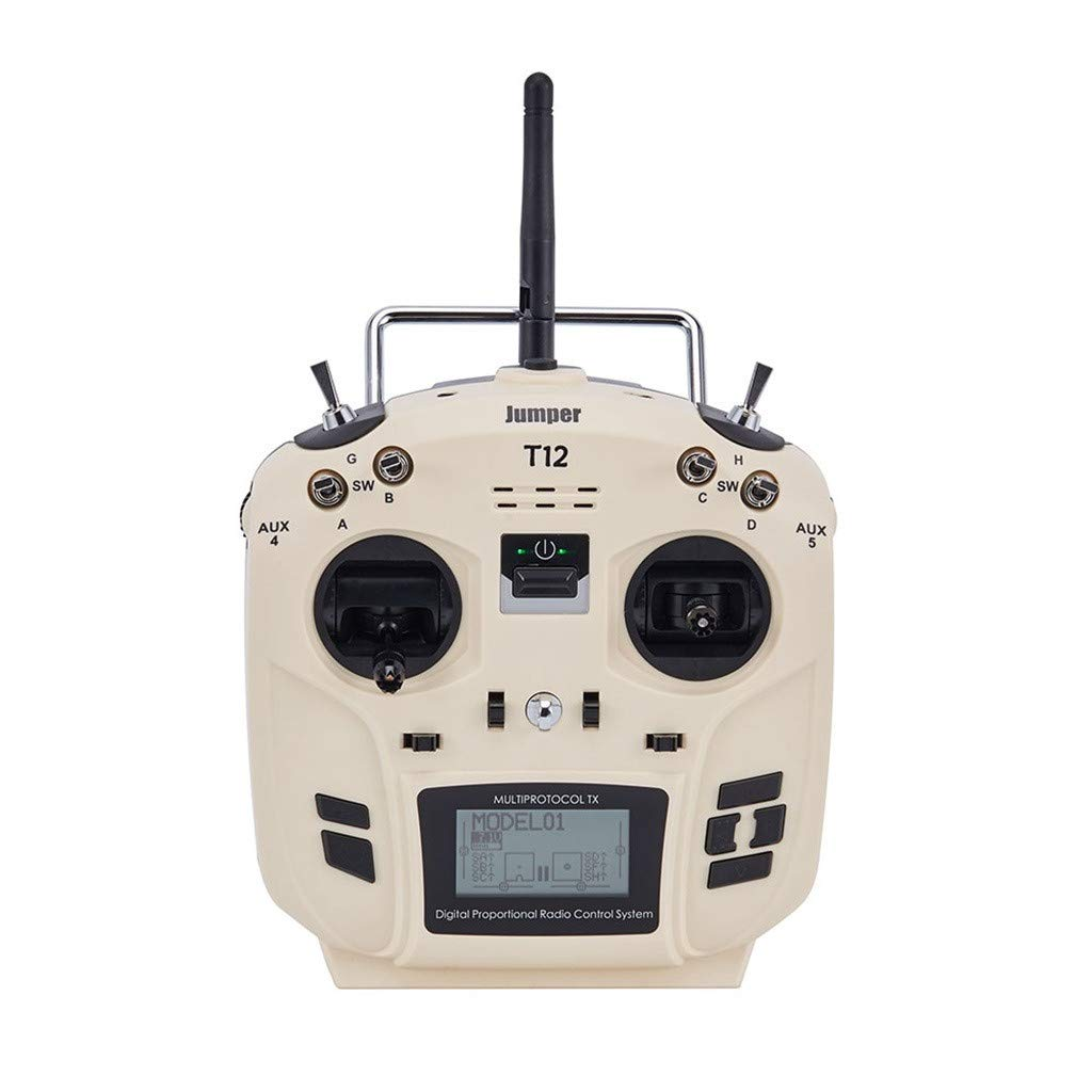 Giokfine 2019 Jumper T12 OpenTX 16CH Radio Transmitter with JP4-in-1 Multi-Protocol RF Module