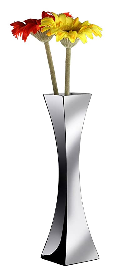 Amazon Visol Products Genevieve Stainless Steel Vase Home
