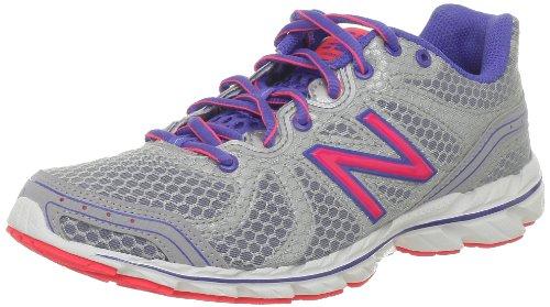 New Balance W590 - Zapatillas de correr de material sintético mujer Plata - Argent (Silver/Blue)