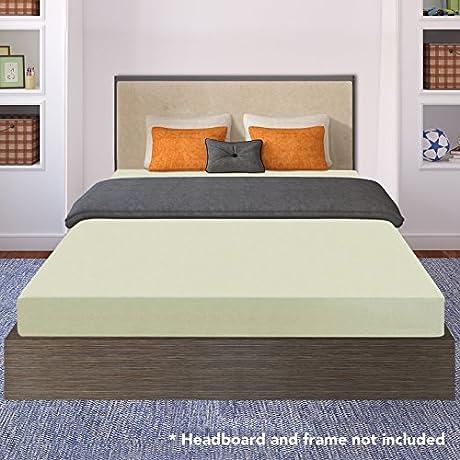 Crown Comfort 6 Inch Premium Memory Foam Mattress Certipur Us Certified Queen