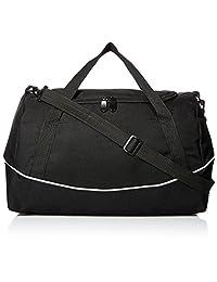 Augusta Sportswear Augusta Tri-Color Sport Bag, Black/Black/White, One Size