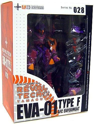 (Revoltech: Neon Genesis Evangelion Eva-01 Type-F ACF Experiment Action Figure by Diamond Comic Distributors)
