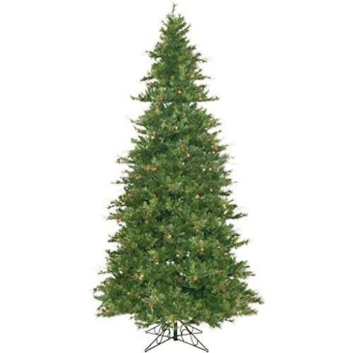 12 ft. x 75 in. - Mixed Country Pine - 4012 Classic Tips - Unlit - Artificial Christmas Tree - Vickerman A801690