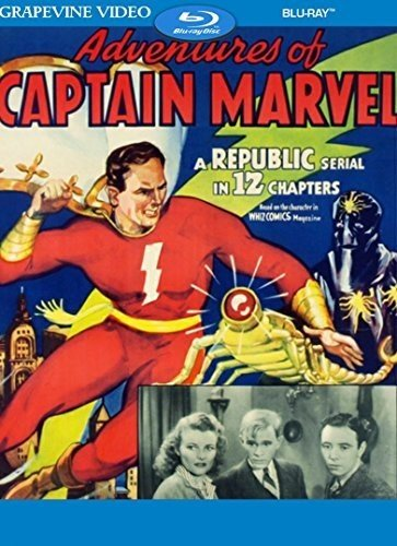 Blu-ray : Adventures Of Captain Marvel (Blu-ray)