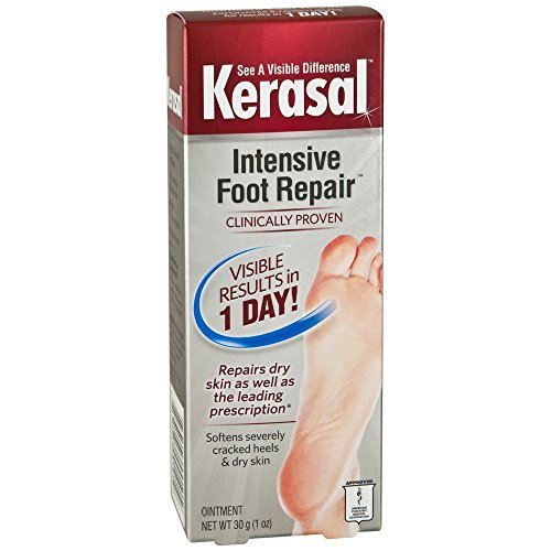 Kerasal Intensive Foot Repair Ointment 1 oz (Pack of 3)