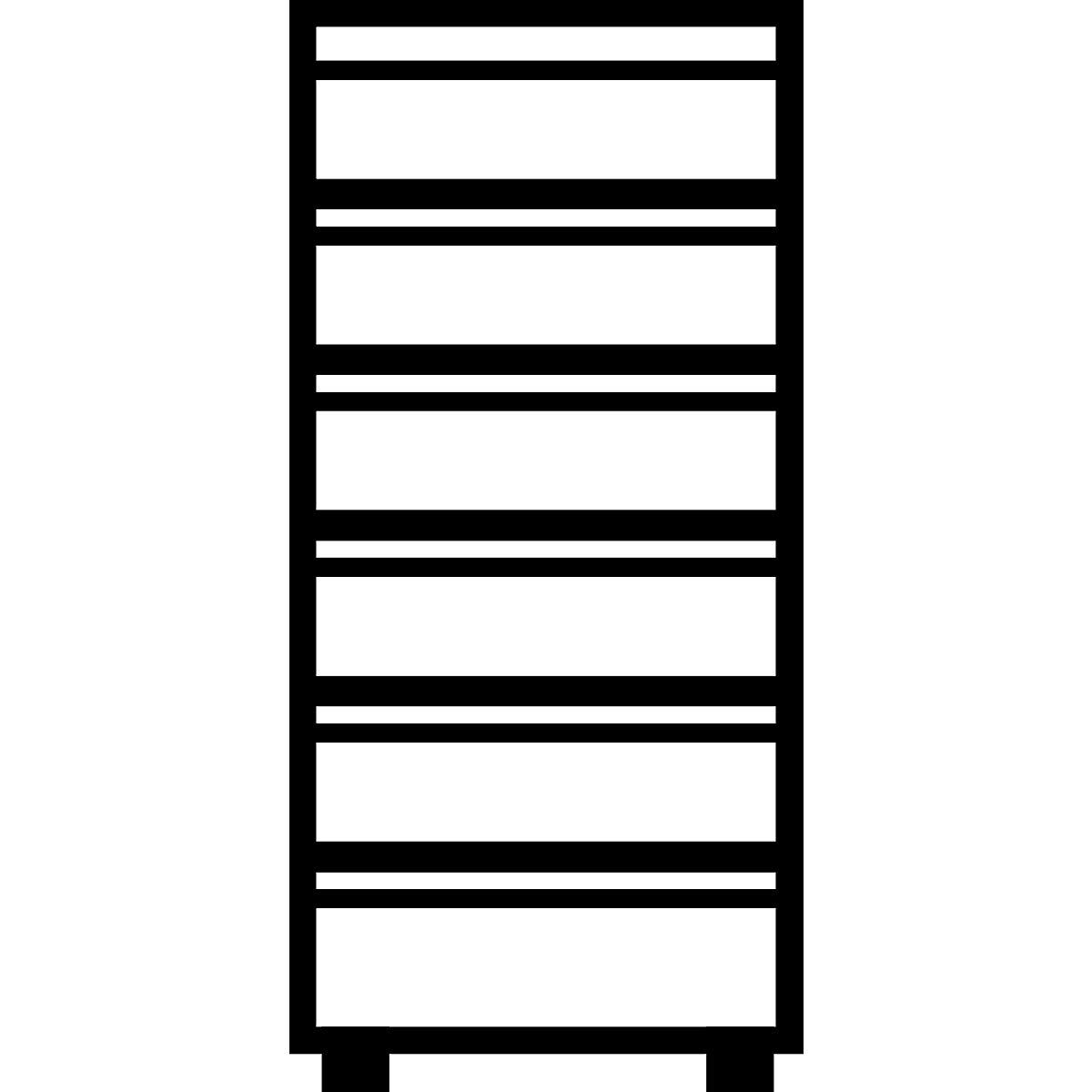 Griffleisten Buroschrank Hangeregisterschrank