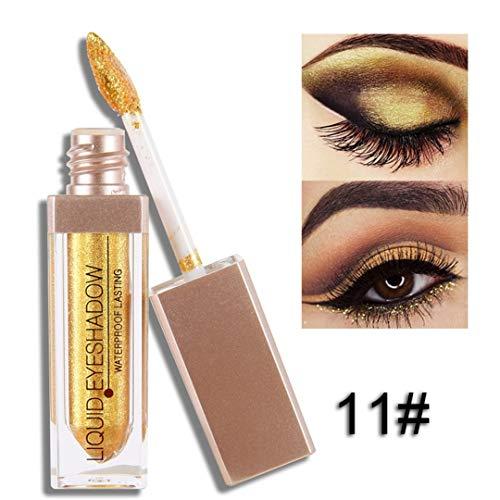 Liquid Eyeshadow Makeup Eye Shadow Halloween Limited Shimmer Metallic Edition Pearl Light Shiny Cosmetics J11 -