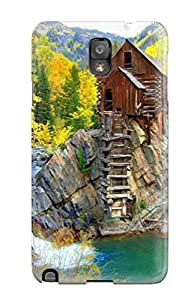 Protective Tpu Case With Fashion Design For Galaxy Note 3 (waterfall)